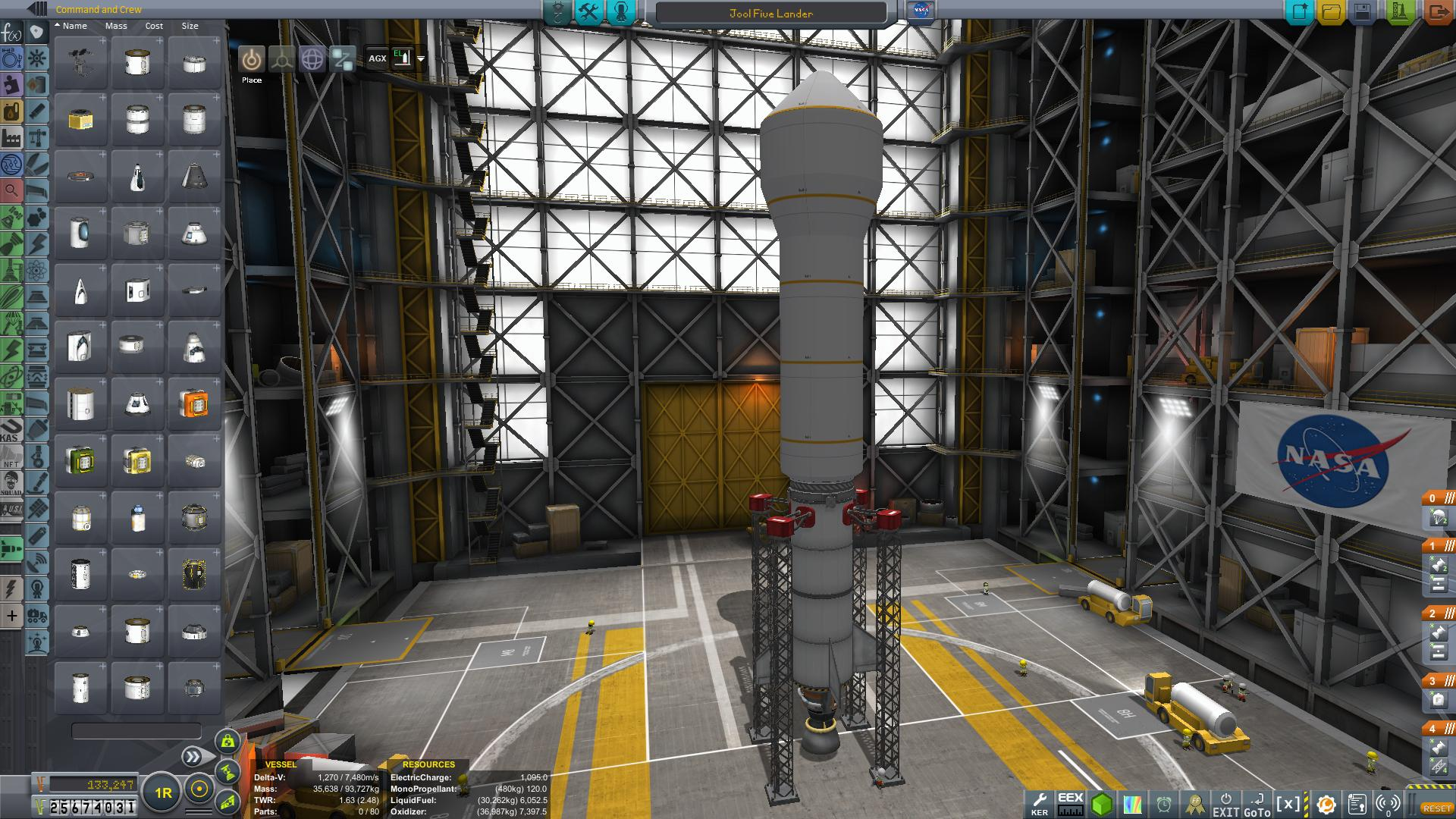 Jool 5 Lander Launcher