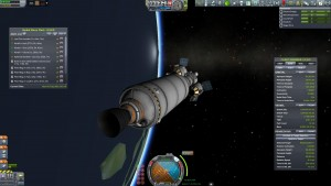 Jool 5 Lander in Orbit