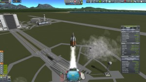 Kerbol Explorer Refueller launch