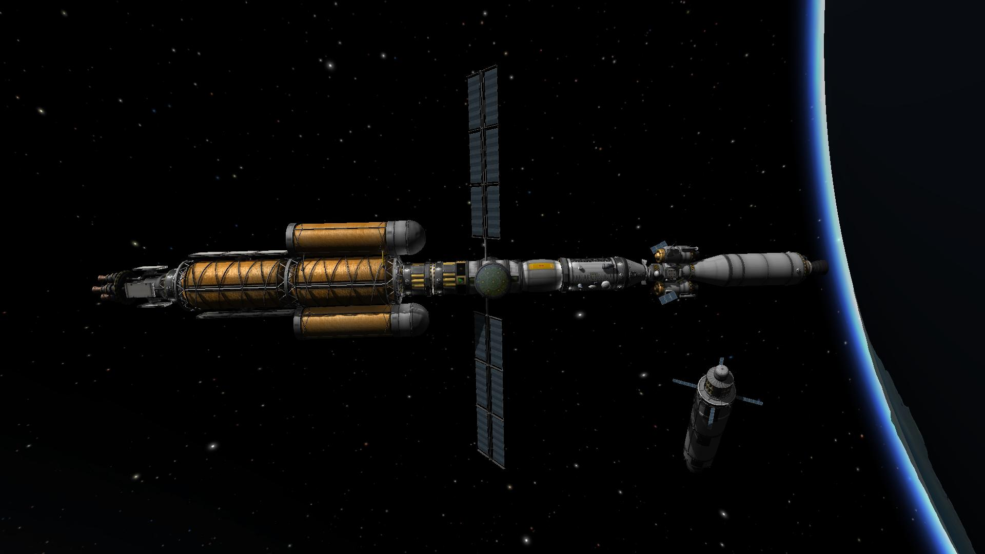 Kerbol Explorer 1 - Ready for Jool
