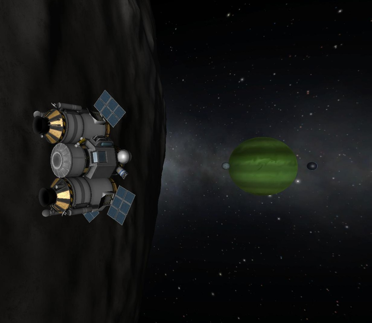 Tylo with Jool, Vall, and Laythe